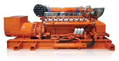 Guascor HGM gas engine family