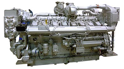 Guascor marine engines and gearboxes