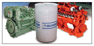 Guascor spare parts for new and old gas and diesel engines