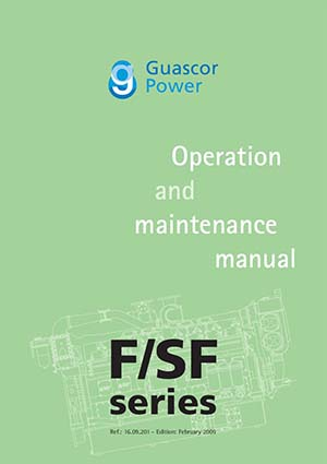 Operation and Maintenance Manaual for Guascor Diesel Engines