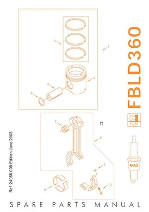Spare Parts Manual Guascor FBLD360