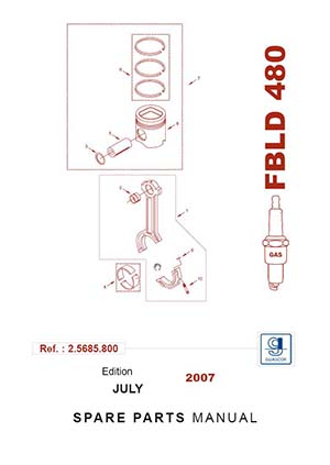 Spare Parts Manual Guascor FBLD480